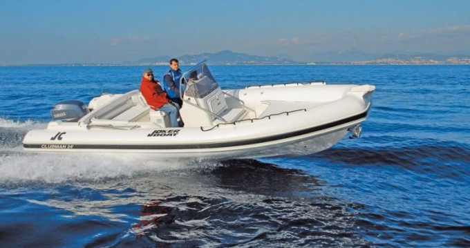 Boat rental Joker Boat Clubman 24 in Pianottoli-Caldarello on Samboat