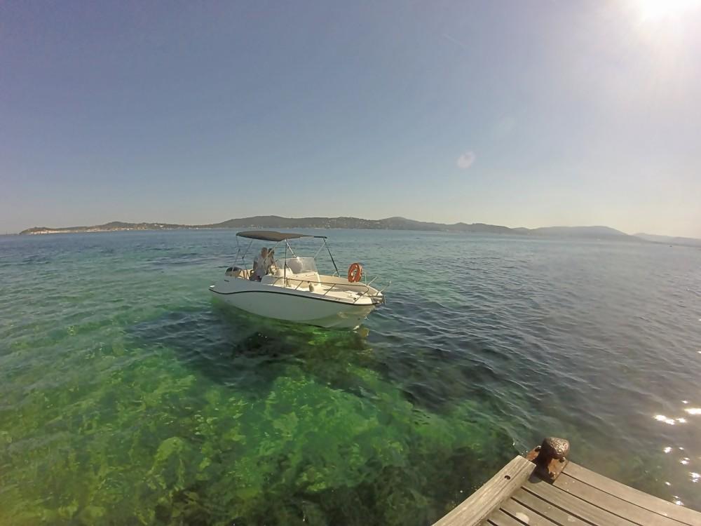 Huur Motorboot met of zonder schipper Quicksilver in Cogolin