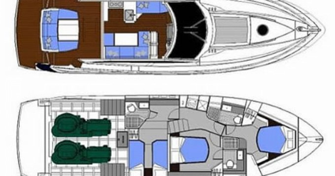 Location bateau Absolute Yachts Absolute 52 Fly à Barcelone sur Samboat
