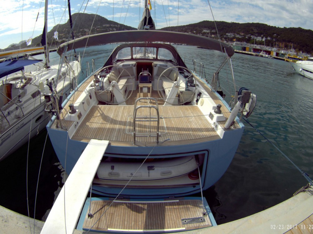 Rental yacht Port Olímpic - Hanse Hanse 540 E on SamBoat