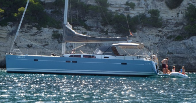 Boat rental Port Olímpic cheap Hanse 540 E