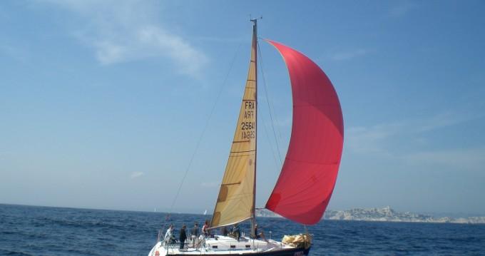 Bénéteau First 31.7 entre particuliers et professionnel à La Seyne-sur-Mer