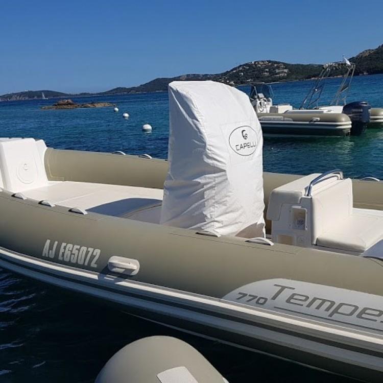 Location bateau Capelli Tempest 770 à Porto-Vecchio sur Samboat