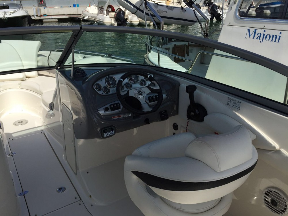 Hire Motor boat with or without skipper Monterey Marina Botafoch
