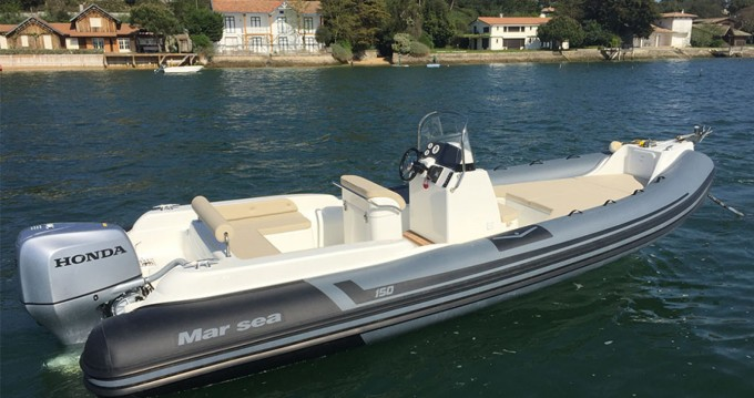 Location bateau Marsea Comfort 150 à Cap Ferret sur Samboat