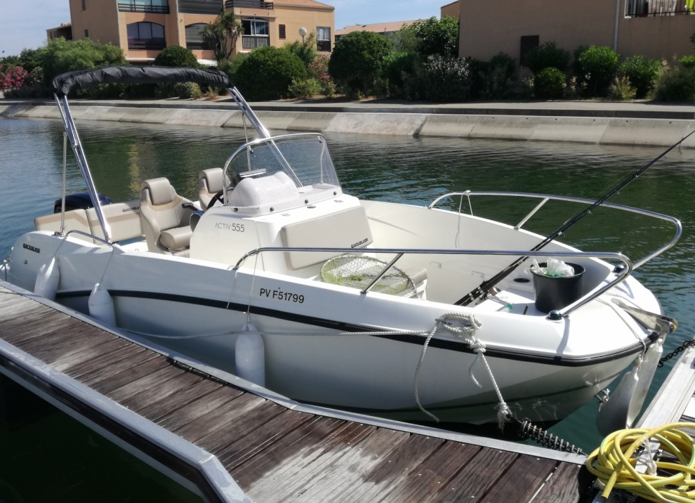Quicksilver Activ 555 Open between personal and professional Saint-Cyprien