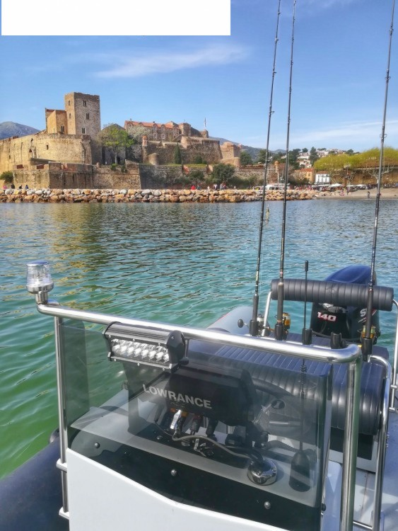 Searib's Searib's Open Fishing 580 between personal and professional Argelès-sur-Mer