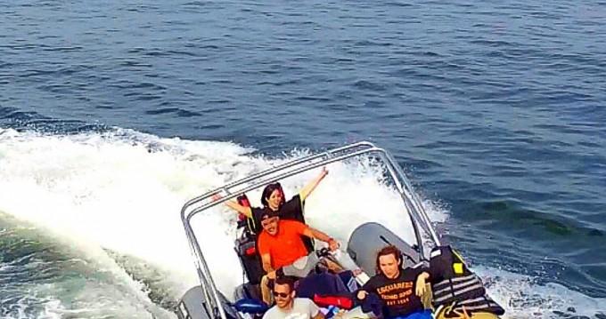 Louer Semi-rigide avec ou sans skipper Sealver à Lège-Cap-Ferret