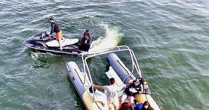 Location bateau Lège-Cap-Ferret pas cher Sealver WB 626