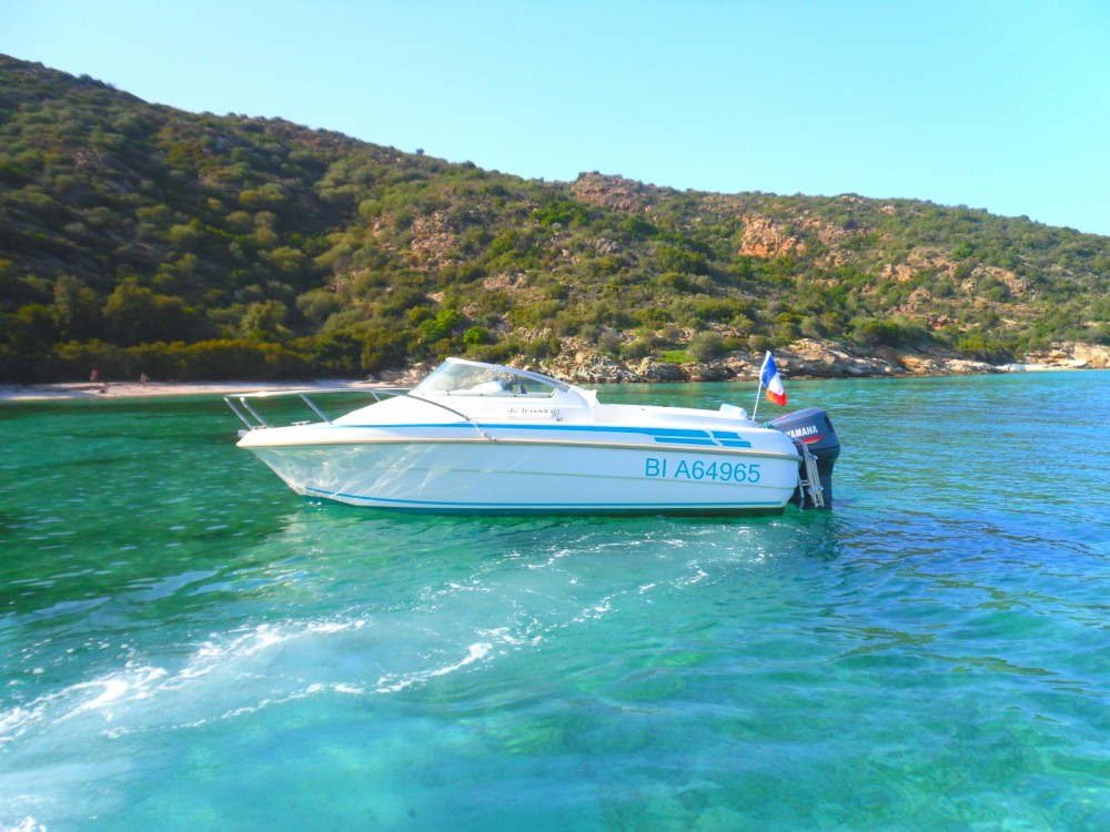 Boat rental Saint-Florent cheap Leader 545