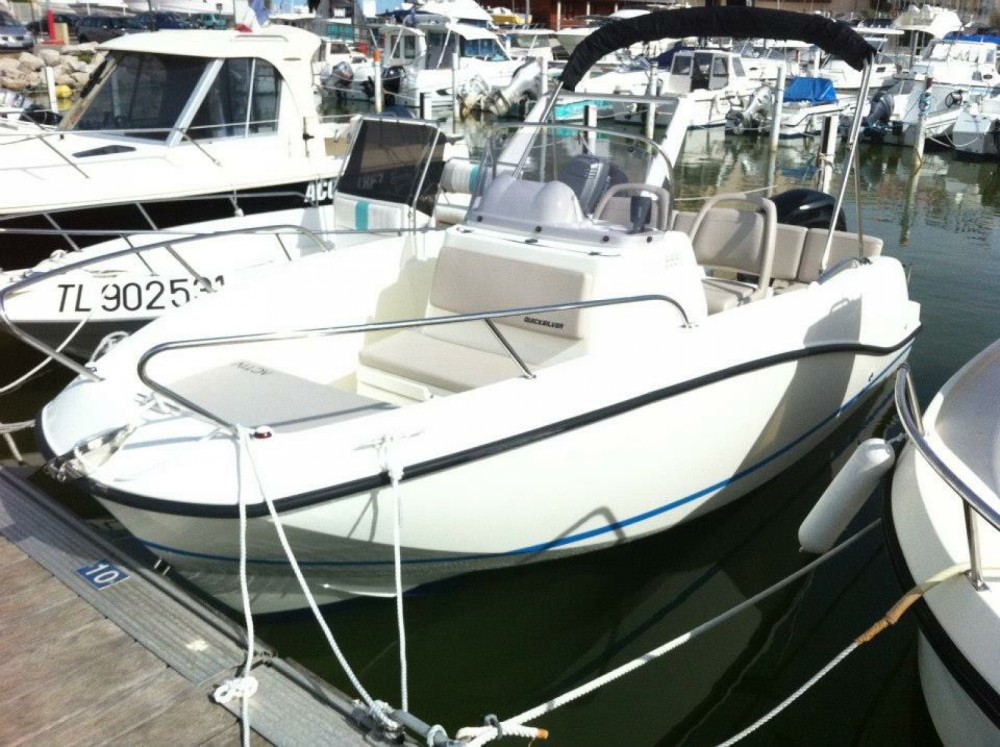 Rental Motor boat in Mauguio - Quicksilver Activ 555 Open