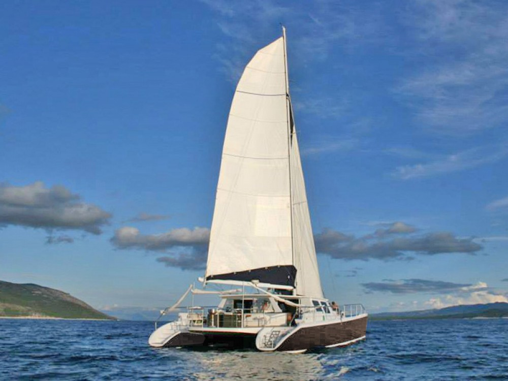 Hire Catamaran with or without skipper  Marina Gouvia
