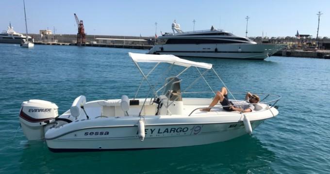 Location Bateau à moteur à Nice - Sessa Marine Key Largo 19