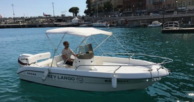 Location bateau Sessa Marine Key Largo 19 à Nice sur Samboat
