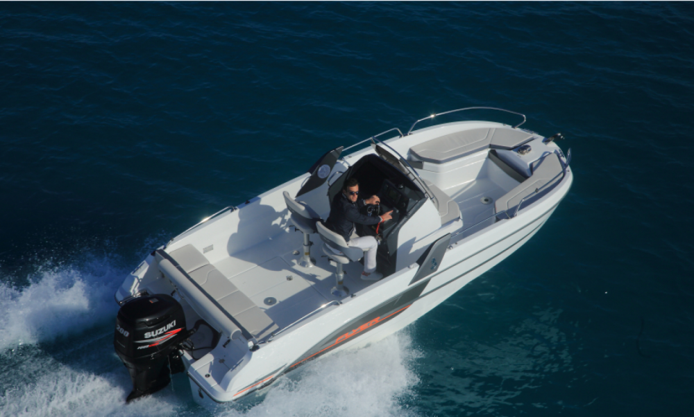 Rental Motor boat in Nice - Bénéteau Flyer 6.6