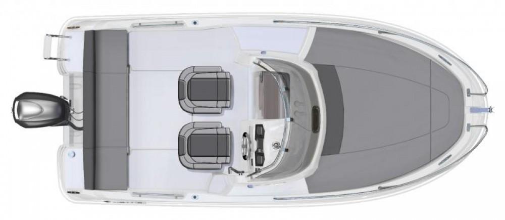 Rent a Jeanneau Cap Camarat 5.5 WA Ibiza