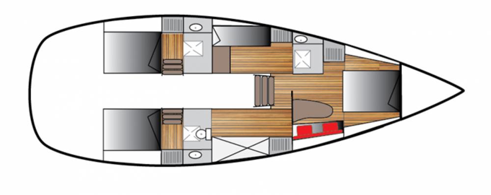 Location bateau Dufour Atoll 50 à Le Gosier sur Samboat
