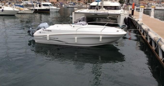 Location yacht à Saint-Mandrier-sur-Mer - Jeanneau Cap Camarat 5.5 CC sur SamBoat