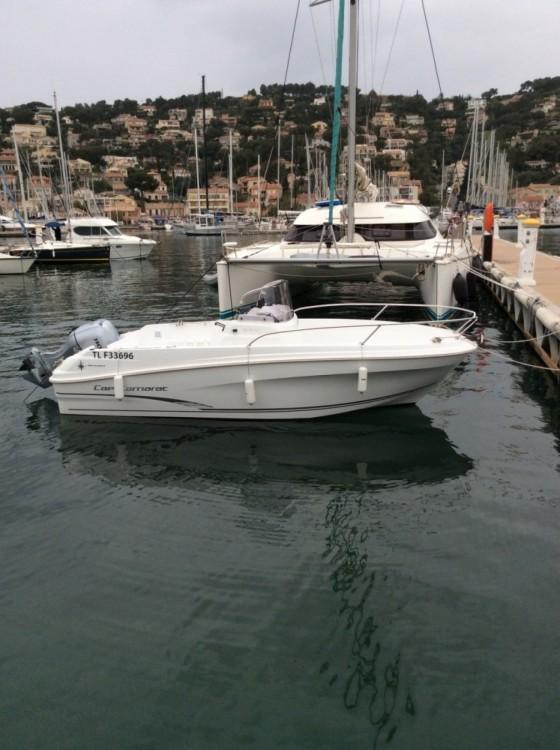 Alquiler de barcos Saint-Mandrier-sur-Mer barato de Cap Camarat 5.5 CC