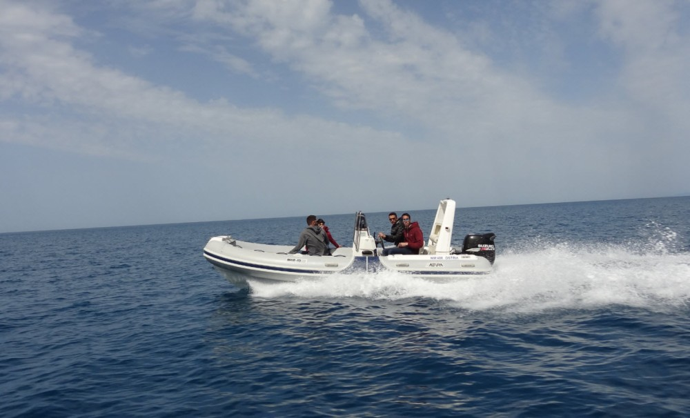RIB for rent Lefkada at the best price