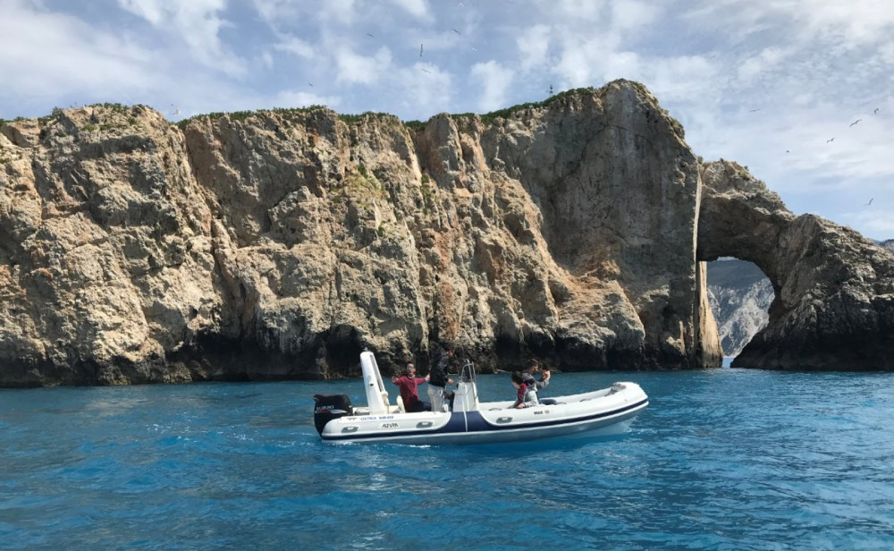 Mar.Co RIB BOAT between personal and professional Lefkada