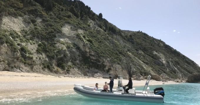 Location bateau Lefkada (Île) pas cher RIB BOAT