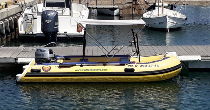 Rental RIB Weihai Noah Yacht Co., Ltd with a permit