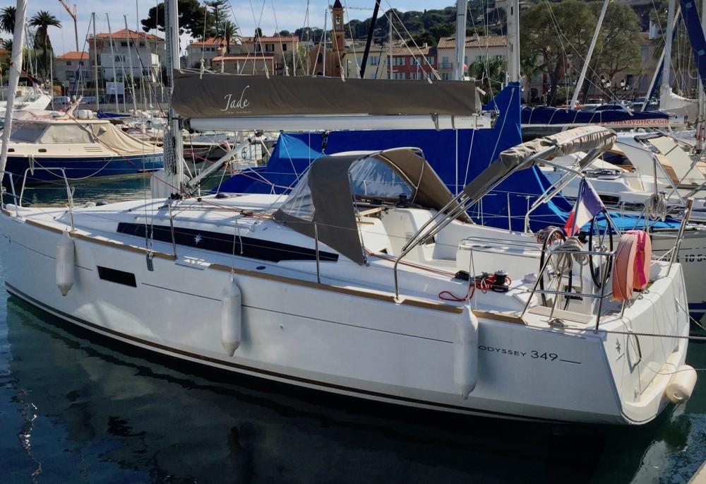 Rental Sailboat in Saint-Jean-Cap-Ferrat - Jeanneau Sun Odyssey 349
