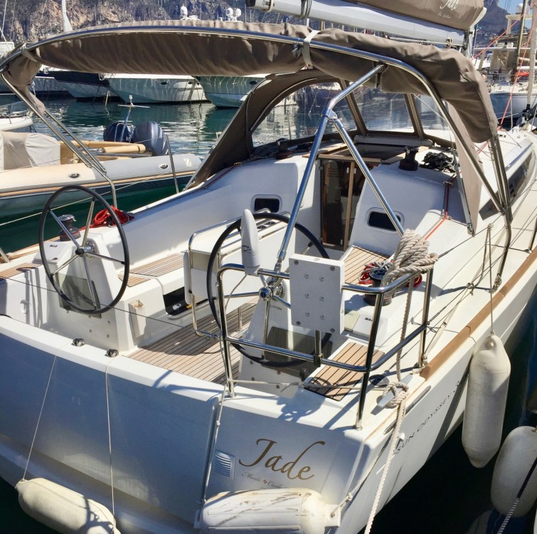 Boat rental Saint-Jean-Cap-Ferrat cheap Sun Odyssey 349