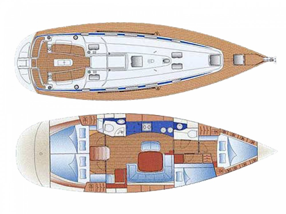 Location bateau Sukošan pas cher Bavaria 44