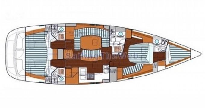 Location bateau Bénéteau Oceanis 523 Clipper à Rogoznica sur Samboat