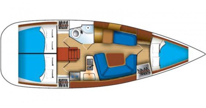 Location bateau Μαρίνα Αλίμου pas cher Sun Odyssey 35