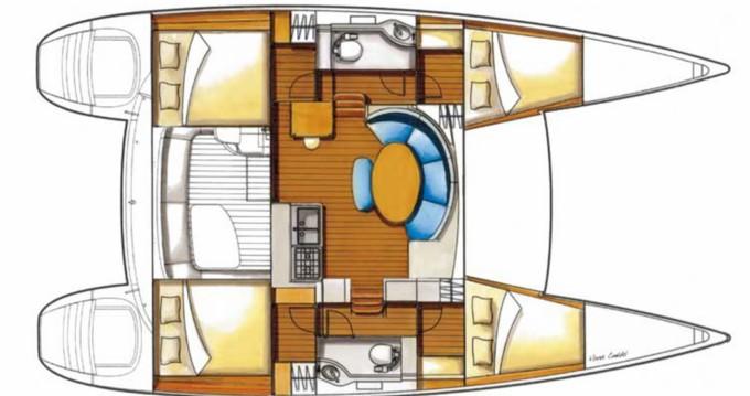 Location Catamaran à Ibiza Magna - Lagoon Lagoon 380