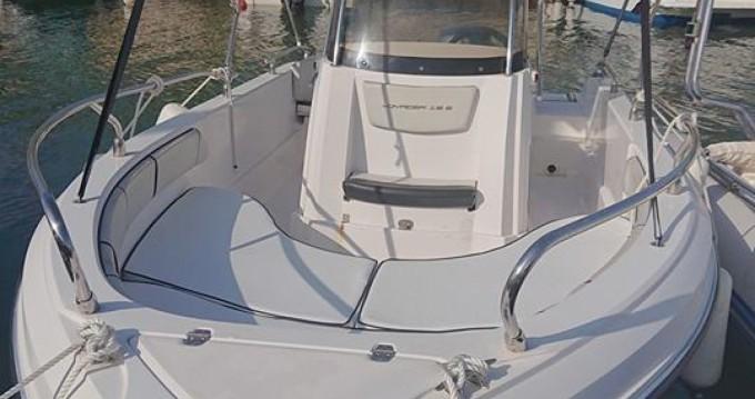Location yacht à Gapeau - Ranieri Voyager 19 S sur SamBoat
