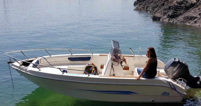 Location Bateau à moteur Gs Nautica avec permis