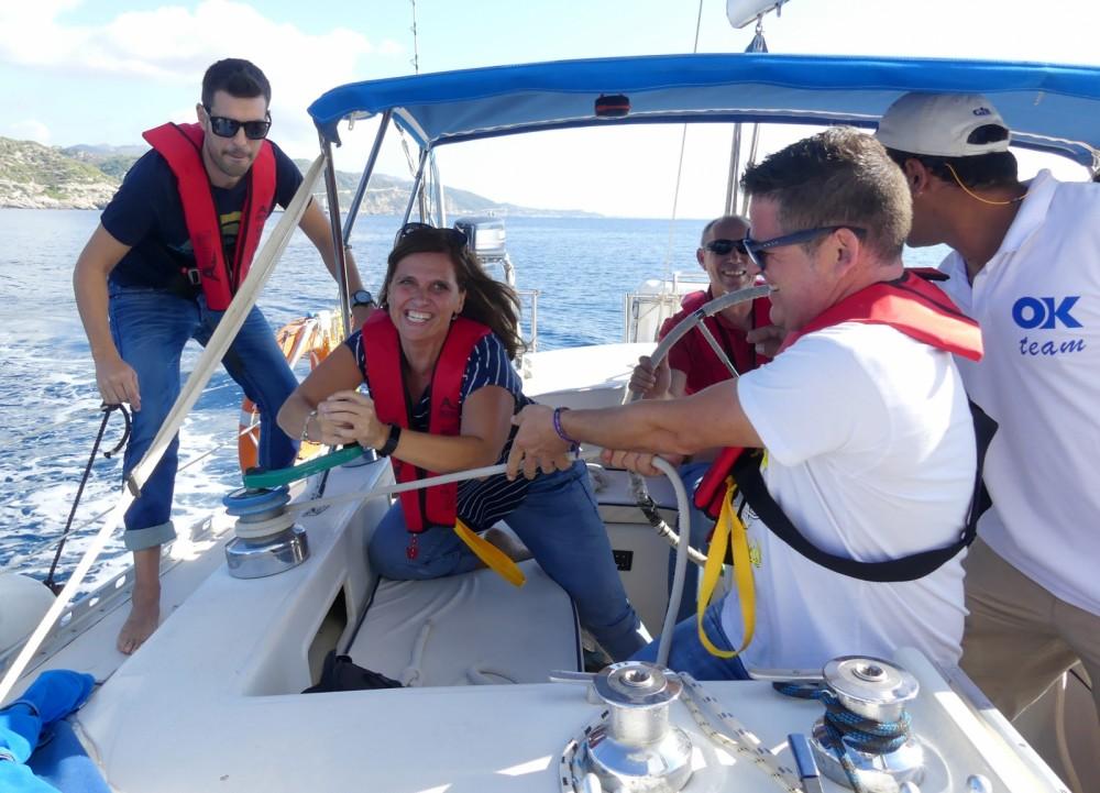 Rental Sailboat Puma with a permit