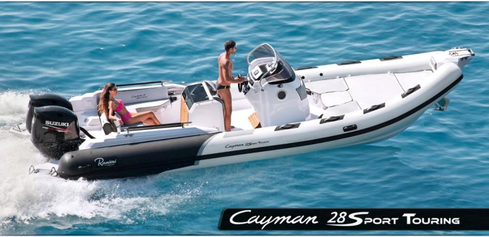 Location bateau Ranieri Cayman 28 Sport Touring à Terracina sur Samboat