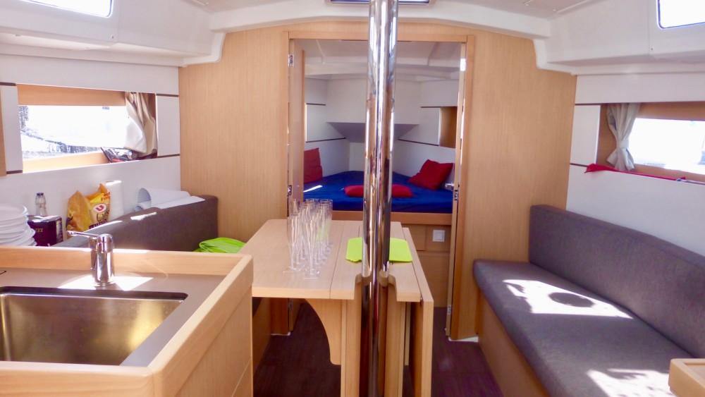 Bénéteau Oceanis 35 entre particuliers et professionnel à Arzon