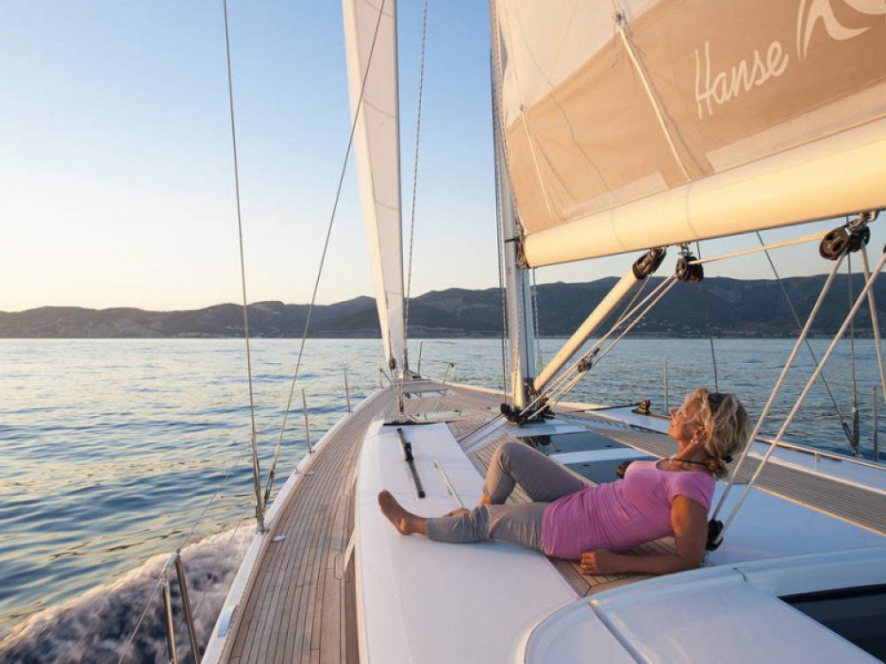 Hanse Hanse 505 between personal and professional Marmaris