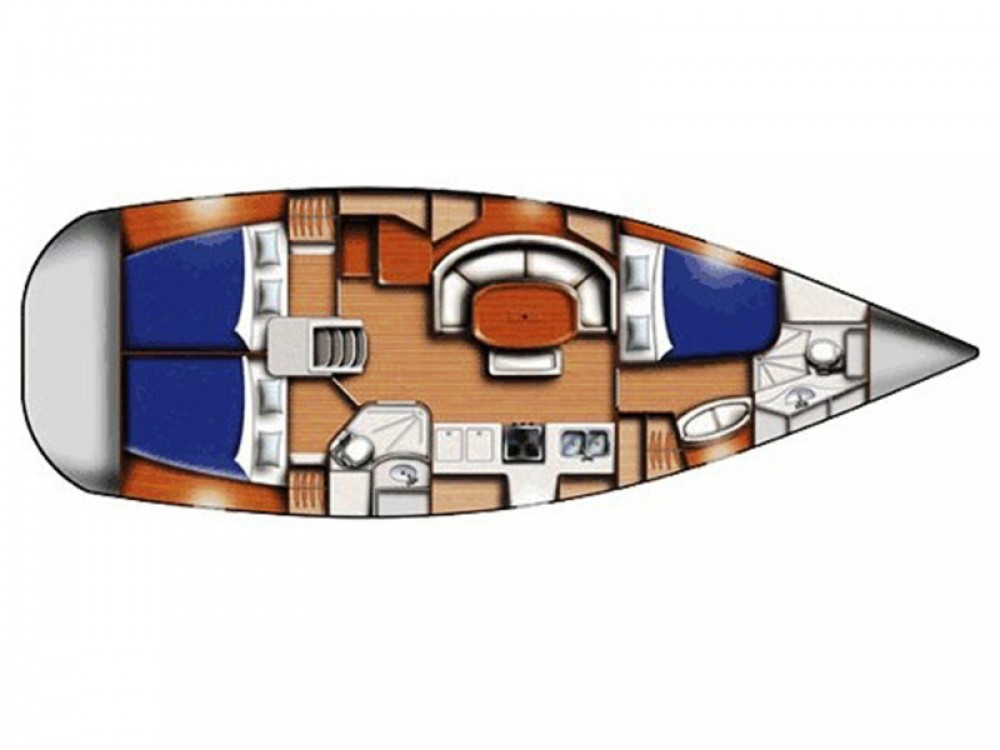 Boat rental Bénéteau Oceanis 393 Clipper in Marmaris on Samboat