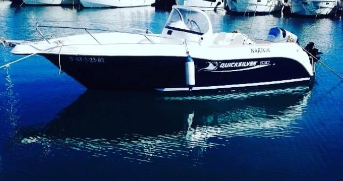 Location bateau Torrevieja pas cher Quicksilver 630 Commander