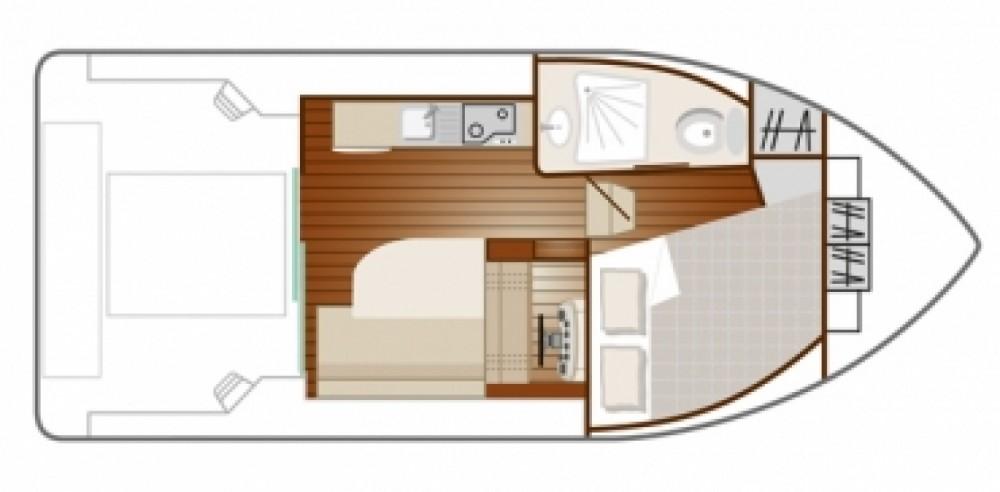 Location bateau Nicols Primo à Sablé-sur-Sarthe sur Samboat