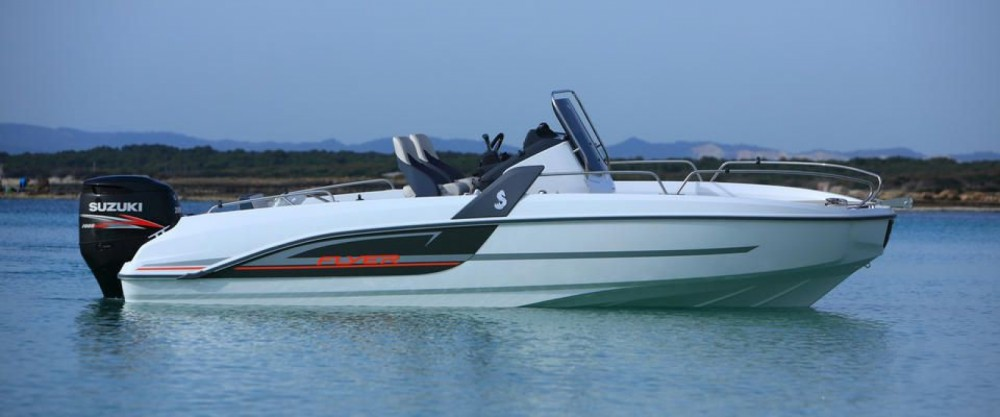 Motor boat for rent Le Croisic at the best price