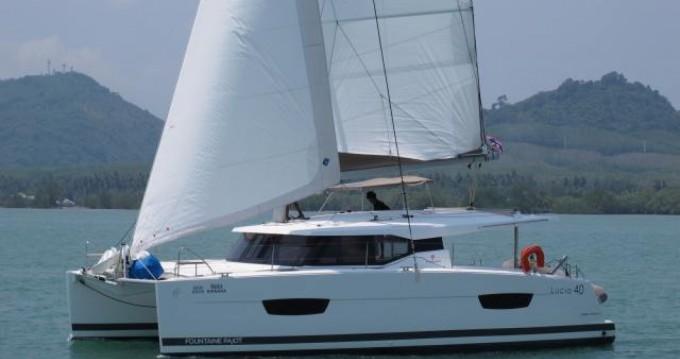 Location Catamaran à Phuket - Fountaine Pajot Lucia 40