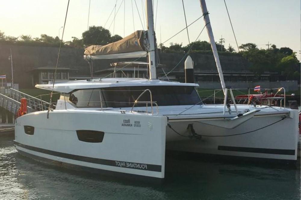 Location bateau Phuket pas cher Lucia 40