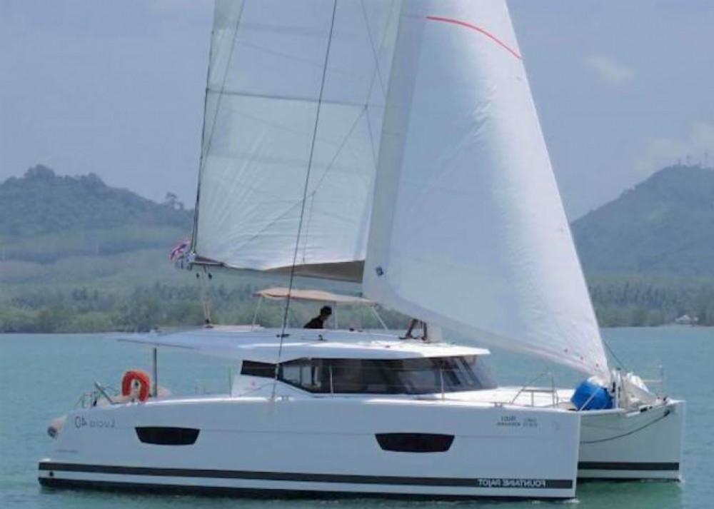 Louer Catamaran avec ou sans skipper Fountaine Pajot à Phuket