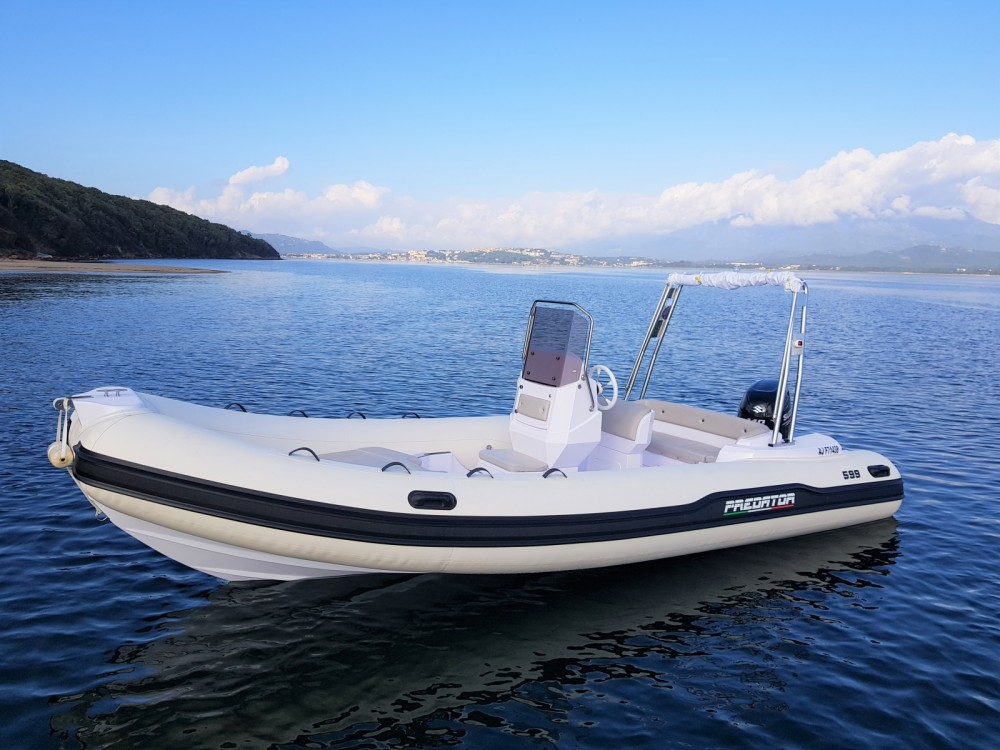 Louez un Italboats Predator 599 AS à Porto-Vecchio