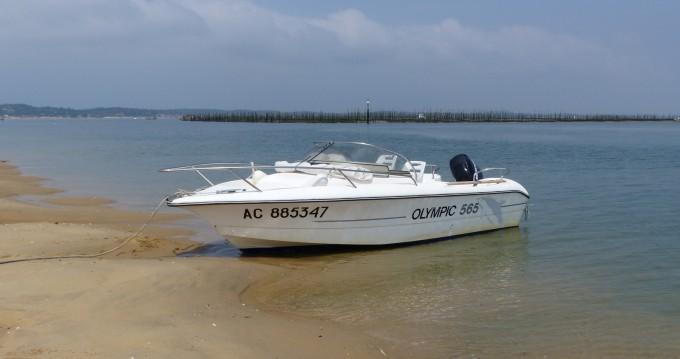 Noleggio barche Ocqueteau Olympic 565 Arcachon su Samboat