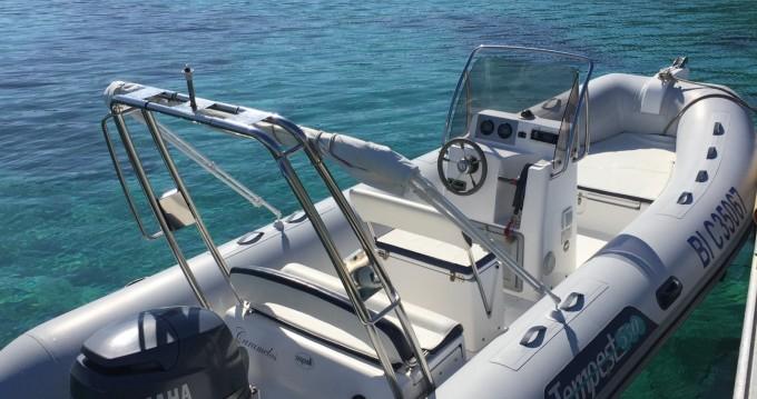 Location bateau L'Île-Rousse pas cher Tempest 550