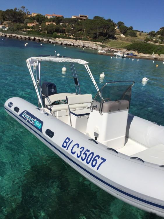 Rental yacht L'Île-Rousse - Capelli Tempest 550 on SamBoat